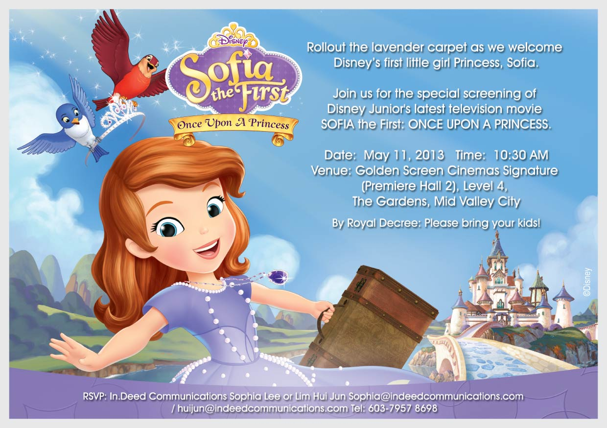 Sofia The First Once Upon