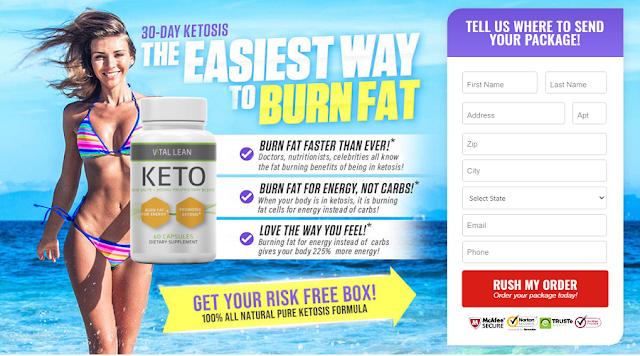 How Does Vital Lean Keto Work? - SnoMoto