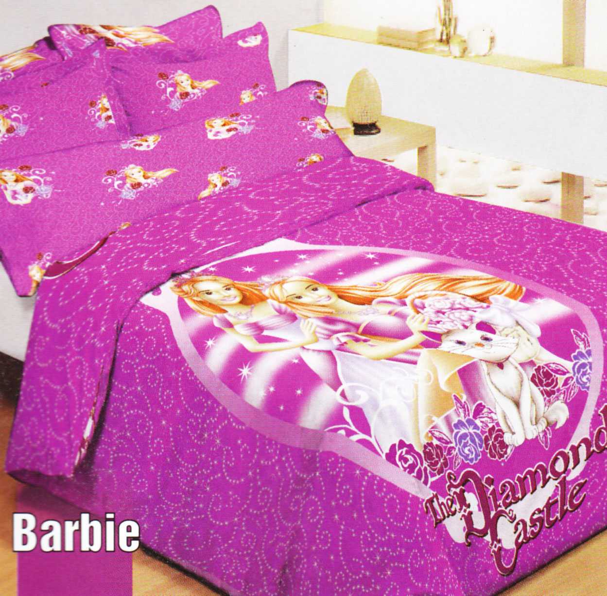Bed cover my love anak - Katalog Shyra Motif Anak Label Bedcover