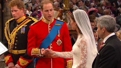 Prince William's wedding vows. YouTube 2011.