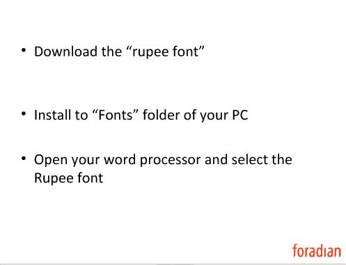 Rupee Font Version 20 Type Rupee Symbol From Your Keyboard Web