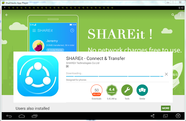 install shareit on pc