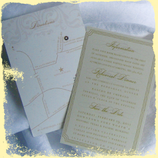 custom guest information cards