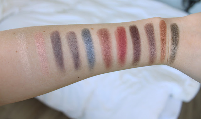 Inglot, Inglot Freedom System swatches, Inglot Freedom System swatches and review, Inglot AMC Shine swatches, Inglot eyeshadow swatches