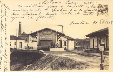 ESTAÇAO SANATORIO DE BARBACENA 1907