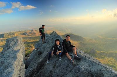Puncak pertama gunung Fatuleu