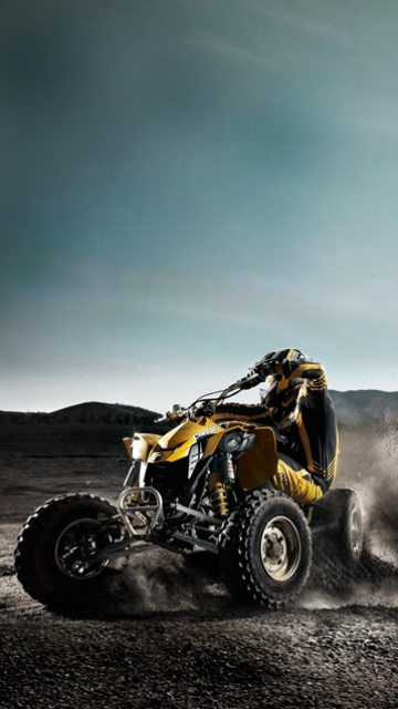 the best car vs the best motorcycle: Quad Bike 360x640 Wallpapers