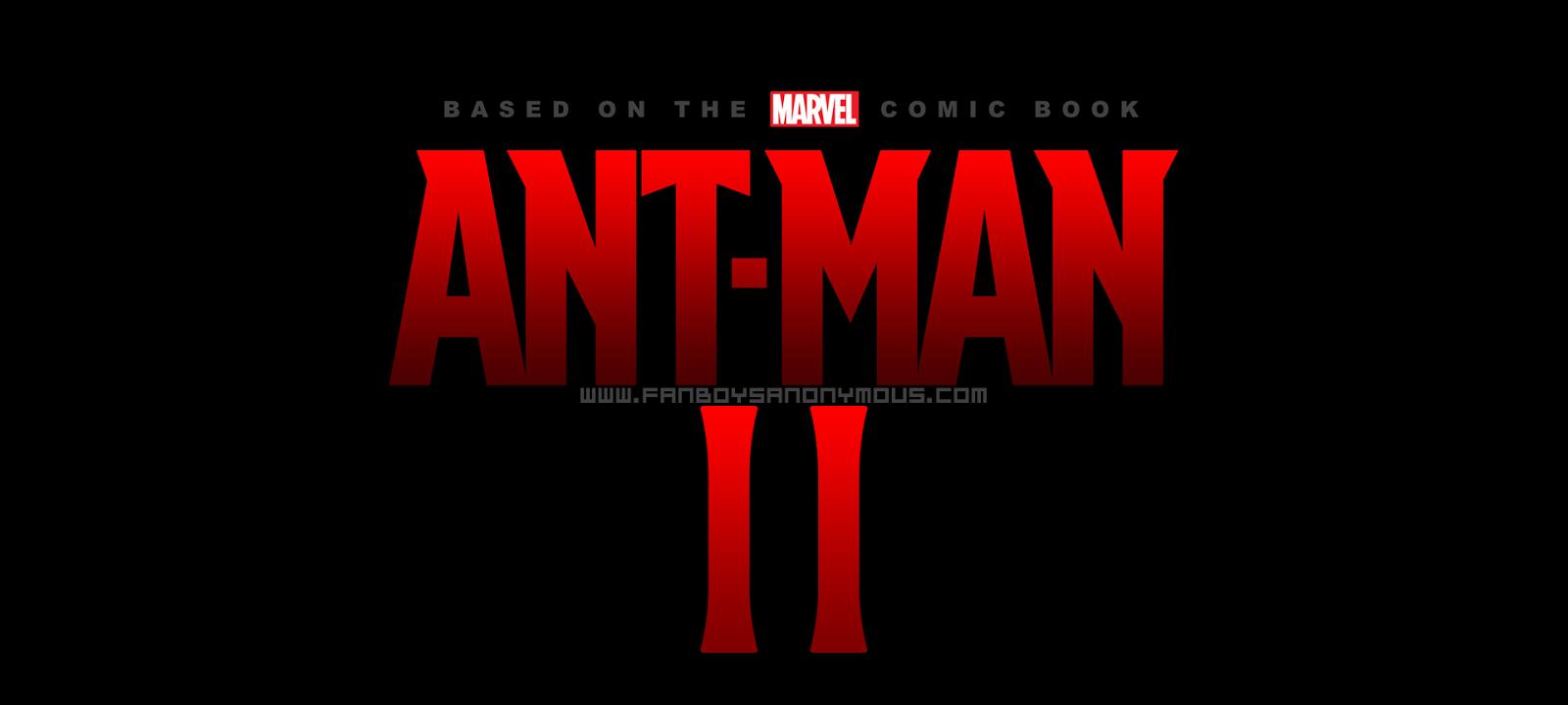 Marvel's Ant-Man sequel logo wallpaper