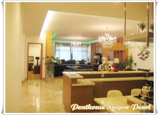 Penthouse saigon pearl cho thuê