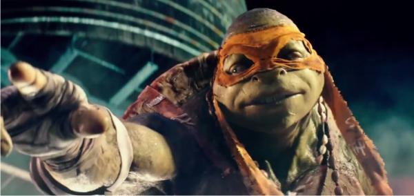 Destruidor luta contra o quarteto mutante no eletrizante trailer de As Tartarugas Ninja, com Megan Fox