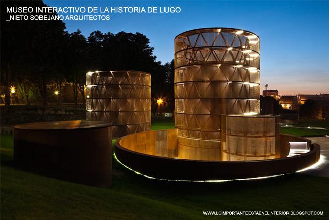 Lo importante est en el interior museo interactivo de la - Arquitectos lugo ...