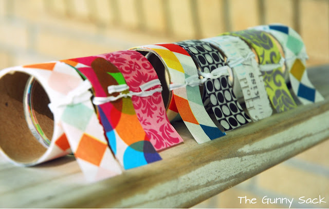 How to make your own washi tape tutorial the gunny sack for How do you use washi tape