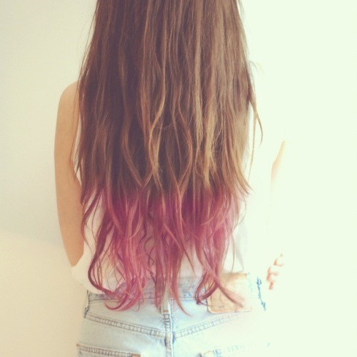 Oh!: Trend: Shatush and Dip Dye Hair
