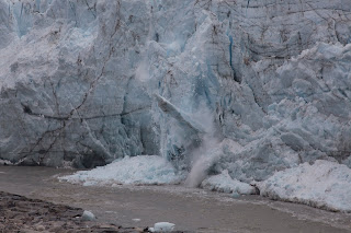 Russell Glacier calving