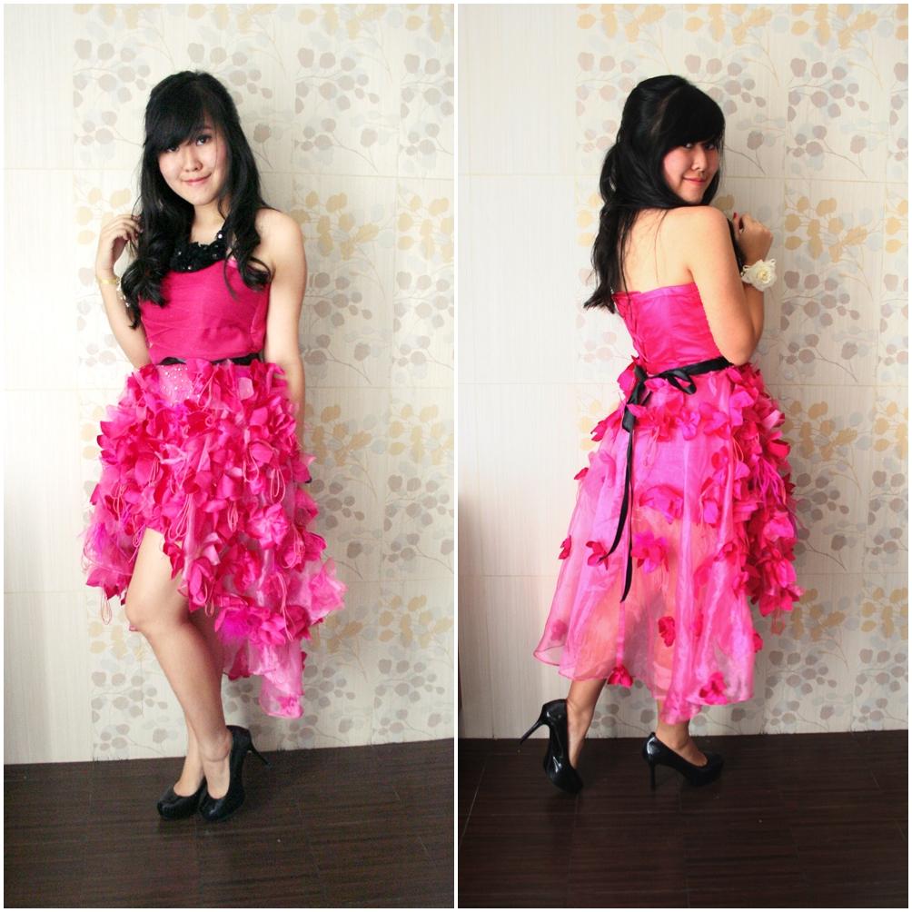 of my Sweet 17 Dress