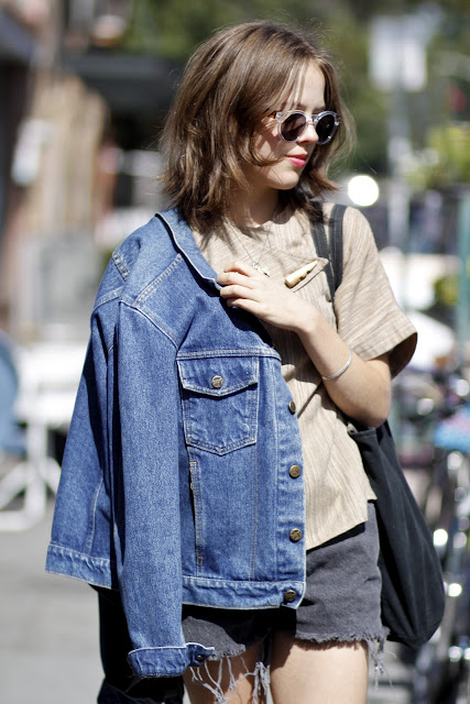 Sophia Linesman Lambs Ear Illesteva Sunglasses Seattle Street Style