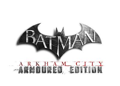 Batman: Arkham City Armoured Edition Logo - We Know Gamers