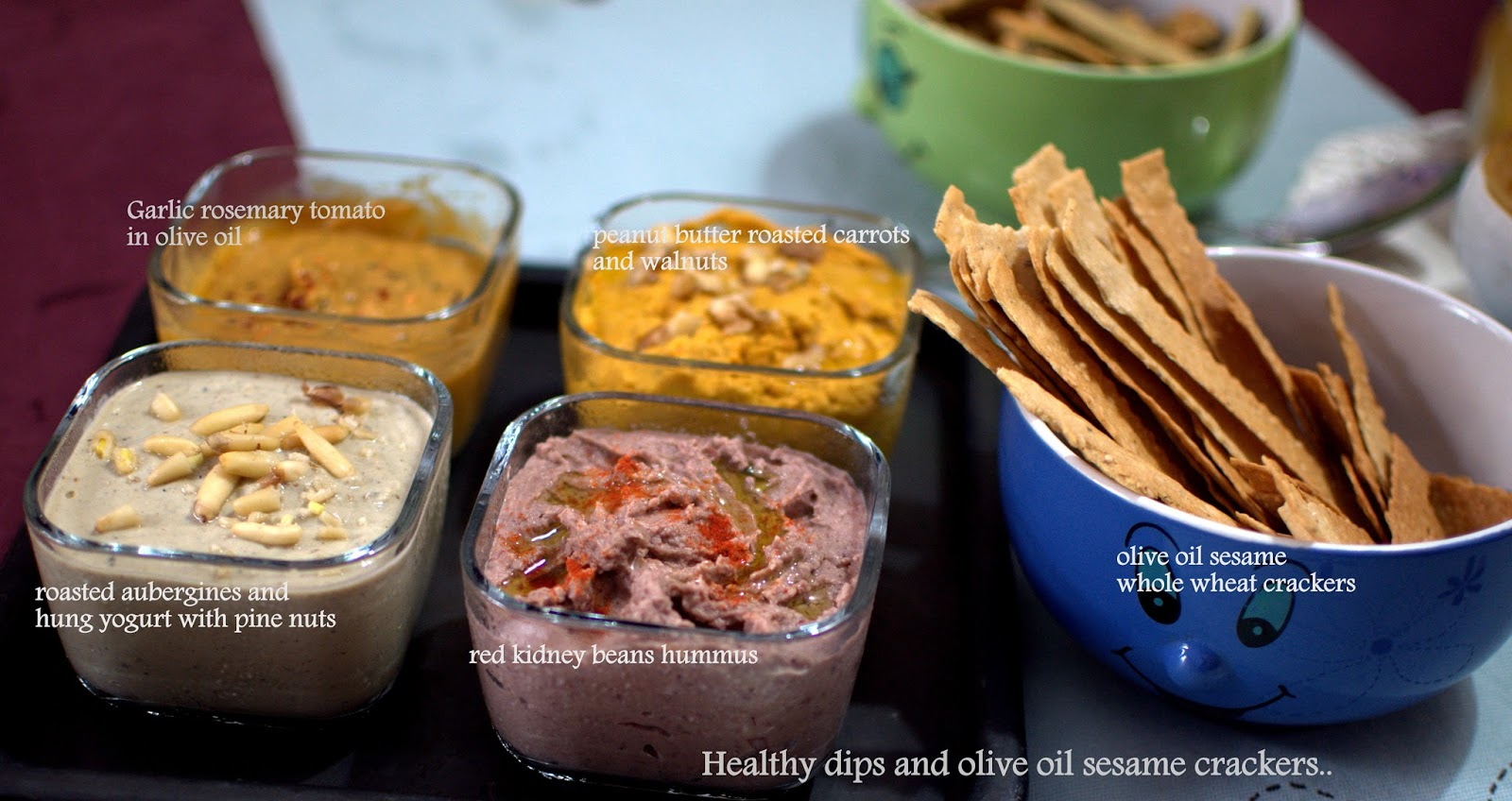 recipe: healthy dips for crackers [33]