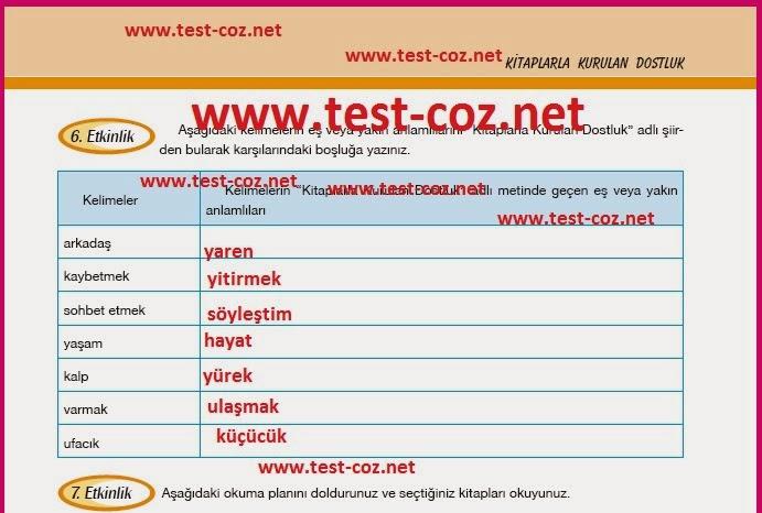 Sınıf türkçe dersi cem yayınları 13 sayfa öğrenci
