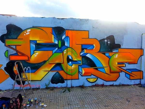 Graffiti de Giore
