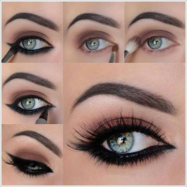 All About Fashion Multi Color Smokey Eye Makeup With Easy And