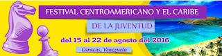 XIV Festival de Ajedrez de la Juventud de Centroamerica y del Caribe 2016 (Dar clic a la imagen)