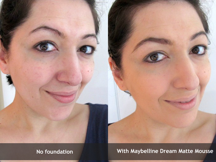 Maybelline Dream Matte Mousse Review And Before After Pics Makeup