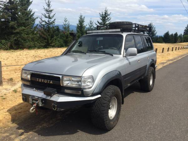 Off Road 1992 Toyota Land Cruiser FJ80 For Sale