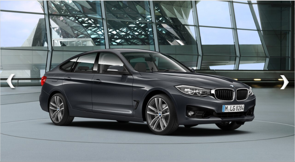 The 2014 BMW 335i GT From A Leaked Preview Of German Configurator Keep In Mind That Colors And Options Shown Here These Previews Is Not