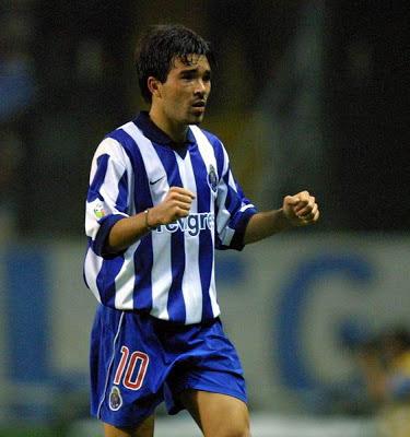 Deco um grande jogador que atuou por Porto, Chelsea, Barcelona e Fluminense