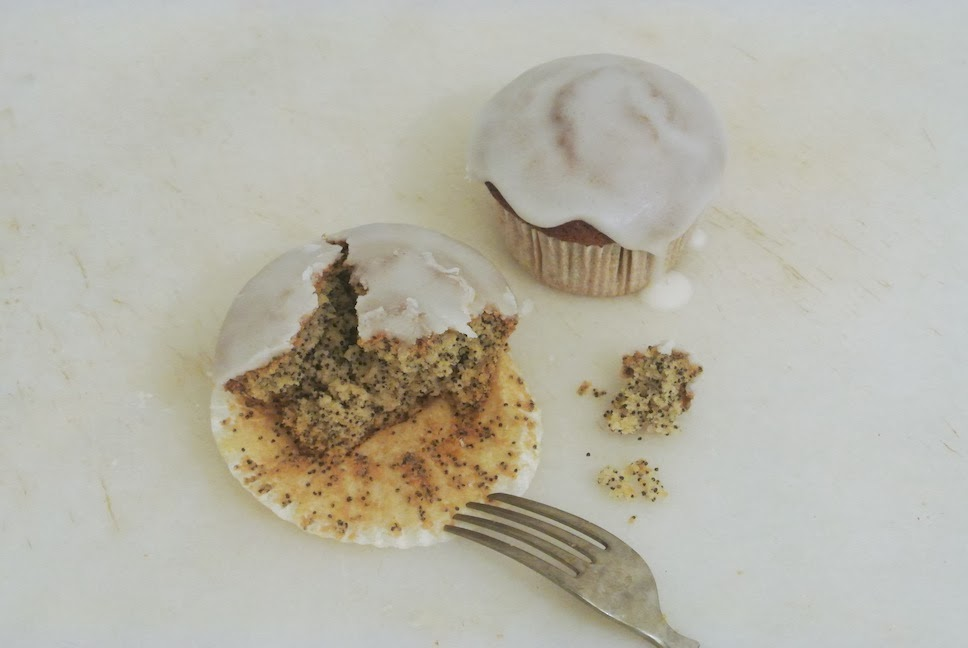 Cupcake de Amapola y Limón