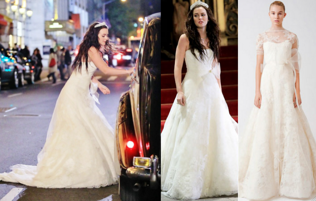Stilista abito da sposa blair