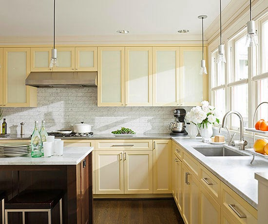 That white cabinet after white cabinet will turn your kitchen