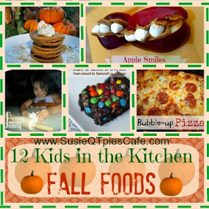 Kids in the Kitchen Fall Foods