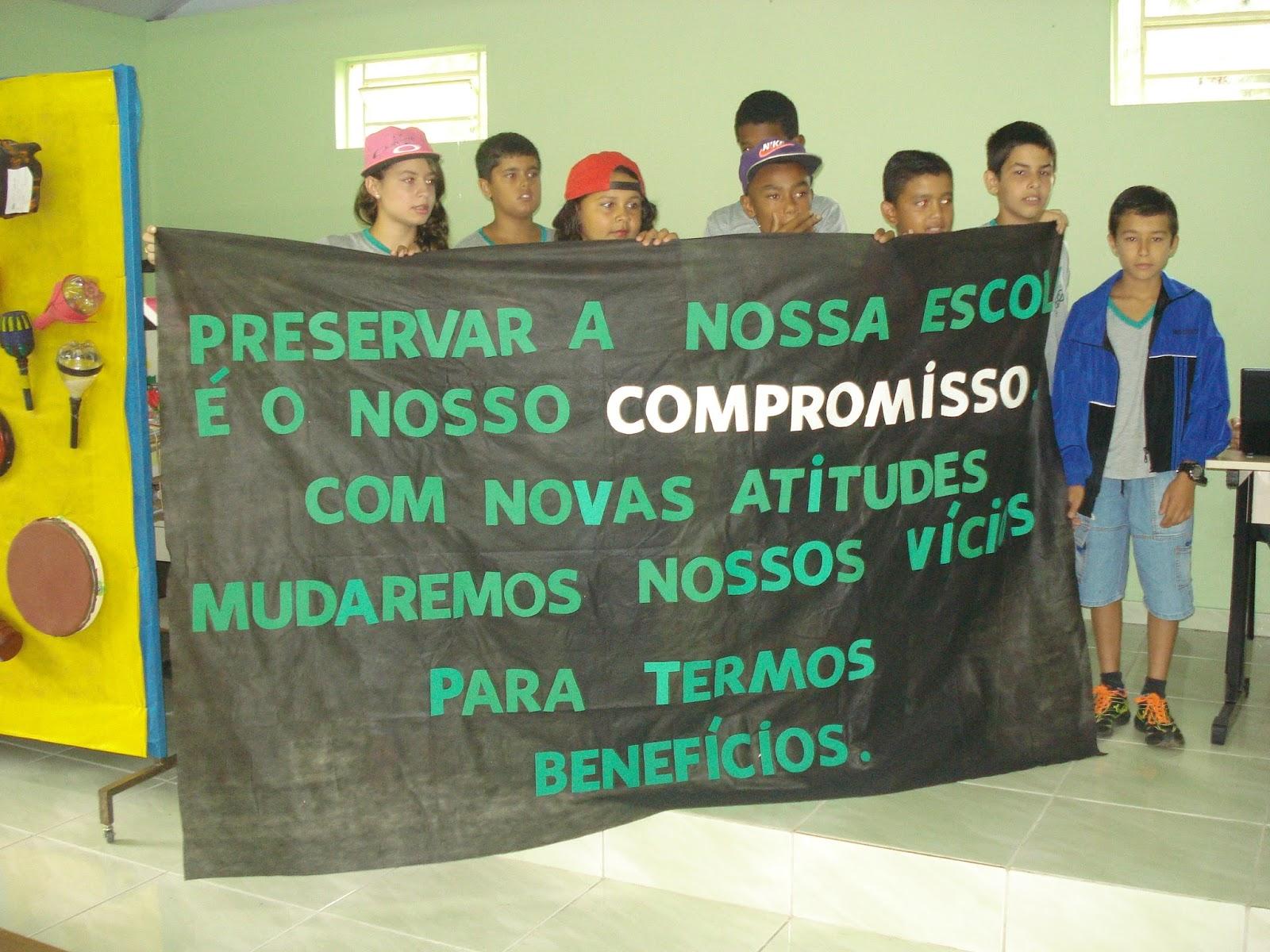 Nossa Escola 23112015 Projeto Escola Limpa E Conservação Do