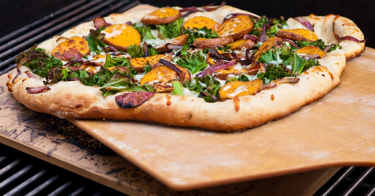 Hedlund Home Cooking: Sweet Potato Kale Pizza with ...