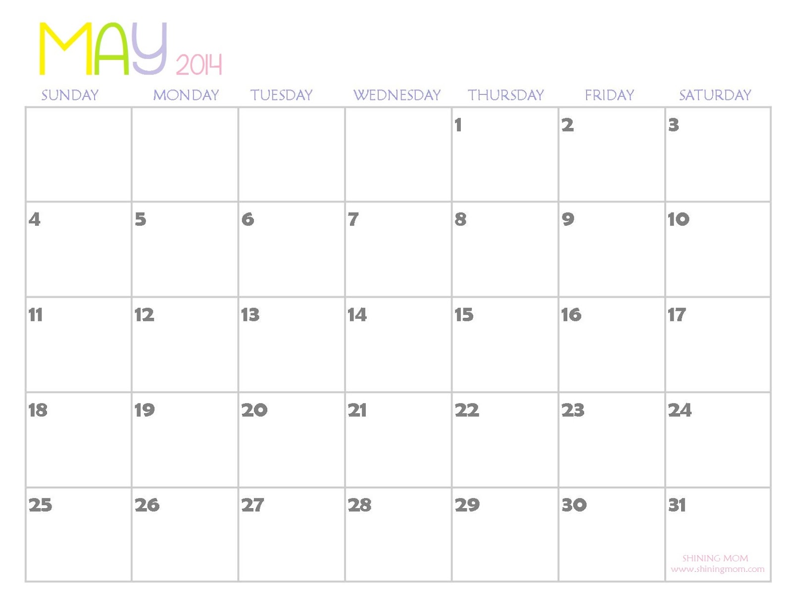 October 2014 Calendar With Holidays Printable ...