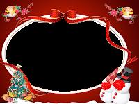 Moldura de Natal com fundo transparente - 6