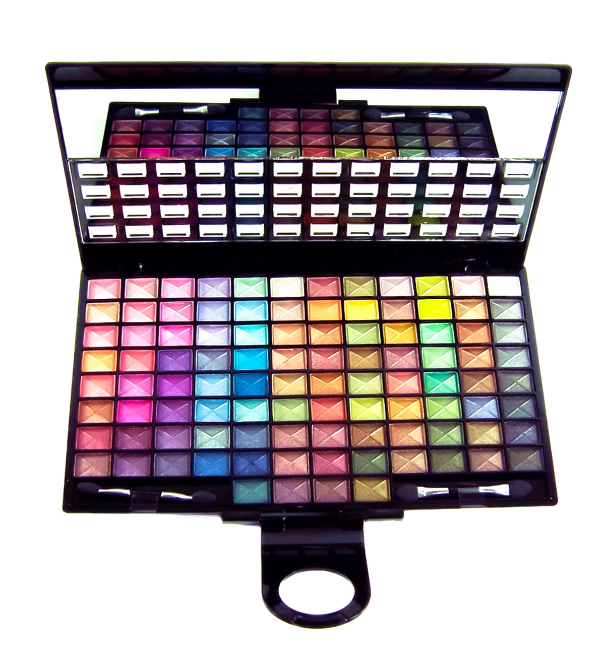 huge makeup palette. 100-color eyeshadow palette (ultra sheer) cc-6849 huge makeup