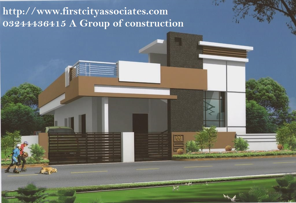 Front design of houses in punjab - House interior