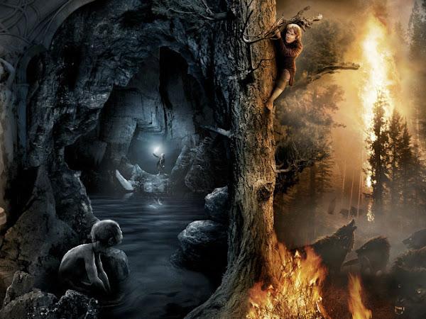 Mais um pôster lindo do filme de O Hobbit Uma Jornada Inesperada