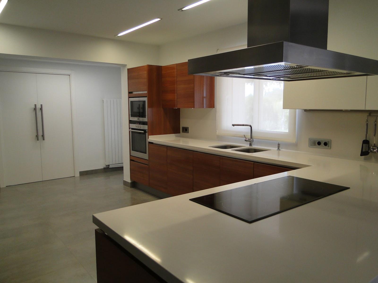 Planos low cost cocina con pen nsula - Cocinas con peninsula ...
