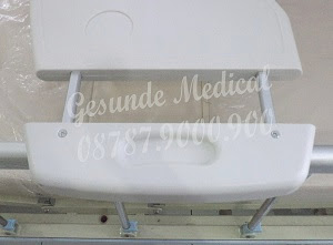 jual overbed table plate