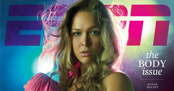 Ronda Rousey ESPN Body issue julho 2012