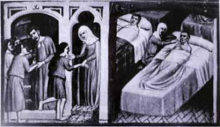 Europe's first hospitals were established in the Middle Ages.