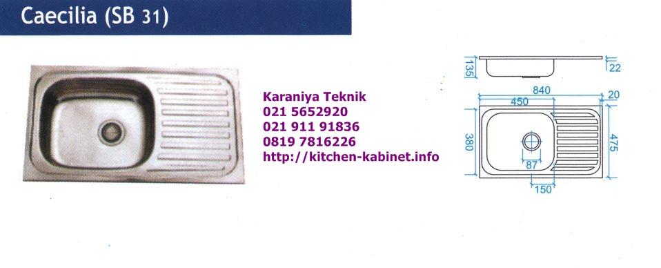 Jual Kitchen Sink : Jual Kitchen Sink Kitchen Sink Satu Lubang Sink