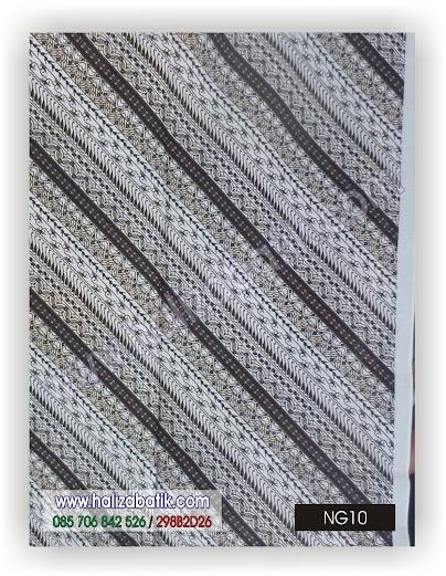 Kain batik ( Jarik ) motif batik Pekalongan. Kain batik pekalongan warna hitam. Koleksi Terbaru Toko Haliza Batik.