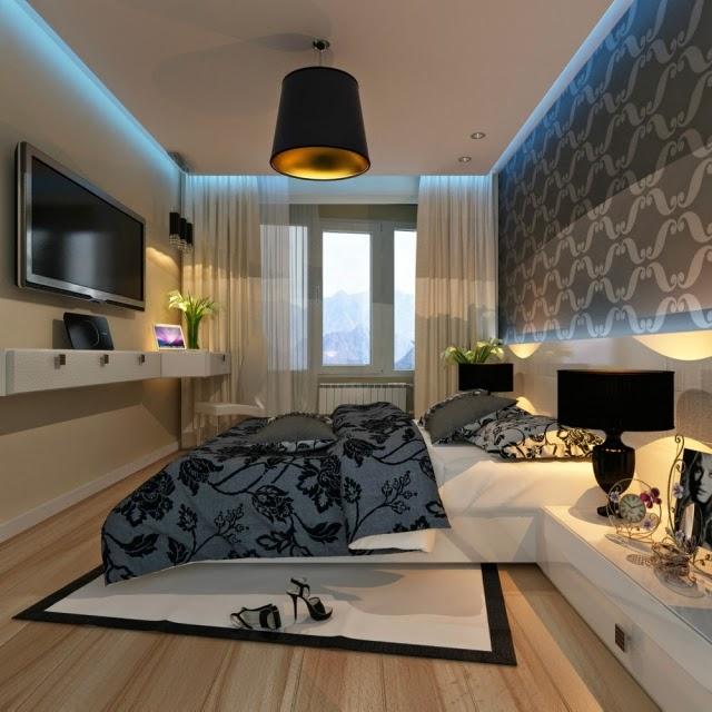 Decorar paredes de dormitorios dormitorios colores y estilos for Papel pared dormitorio