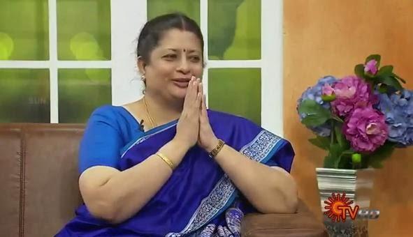 Virundhinar Pakkam – Nithya Kalyani – Sun TV Show 29-10-2013