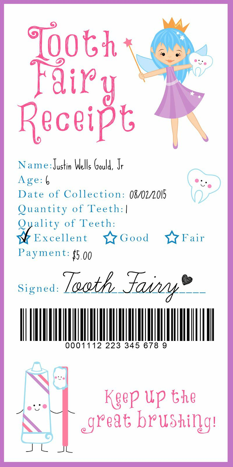 Another ordinary day 10 adorable tooth fairy ideas for Fairy letter ideas